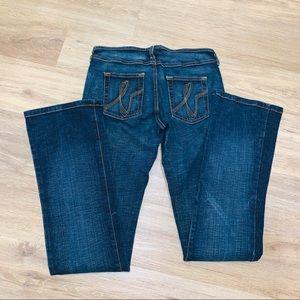 Bebe jeans size 27 like new dark wash